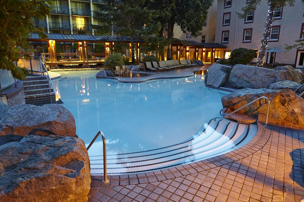 Harrison Hot Springs - Adult Pool   The best pool to spend