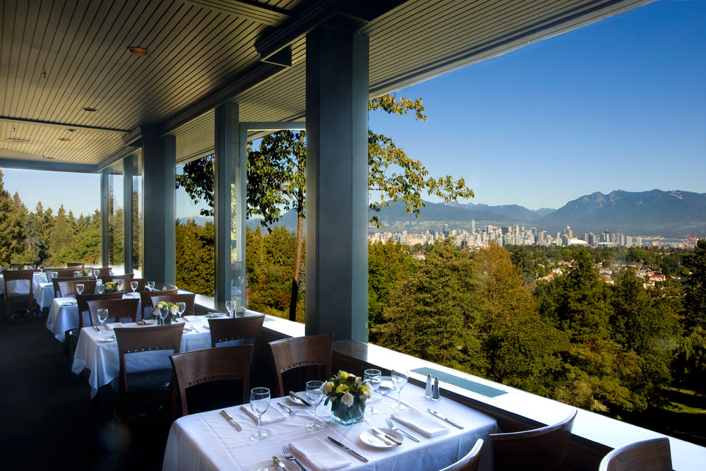 Seasons in the Park Vancouver Dining Room