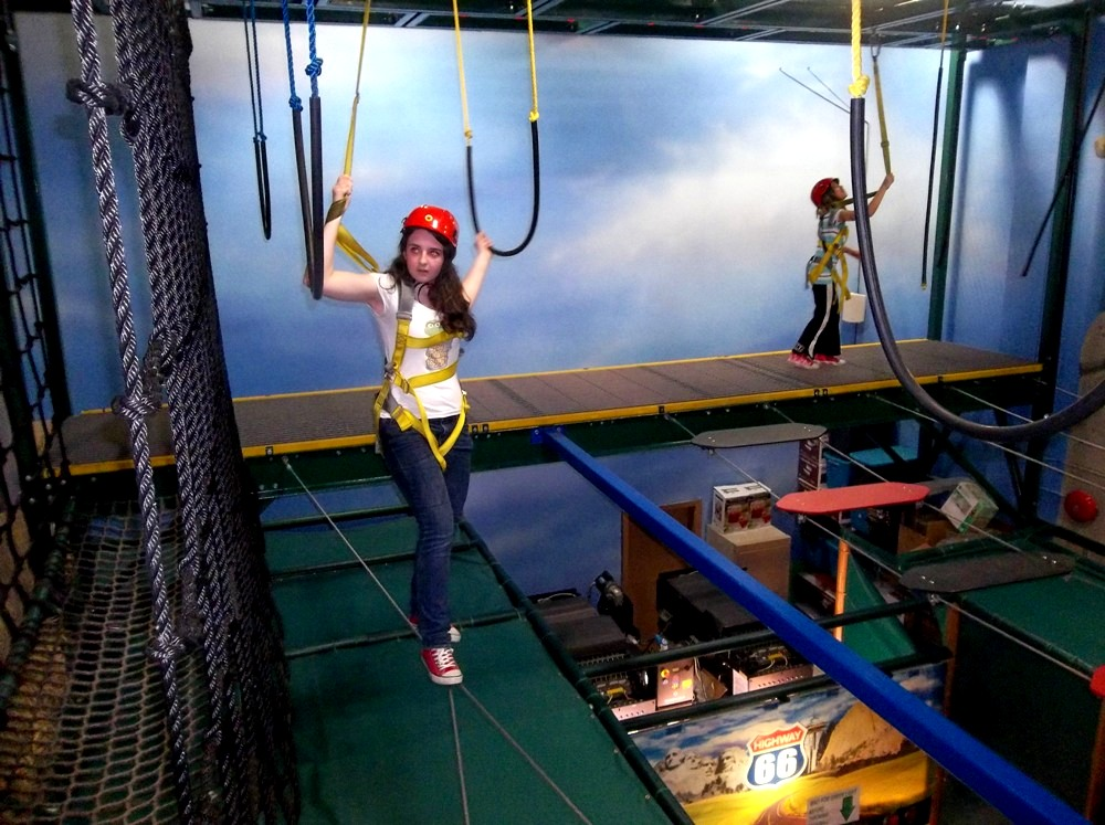 The Great Escape Langley Ropes