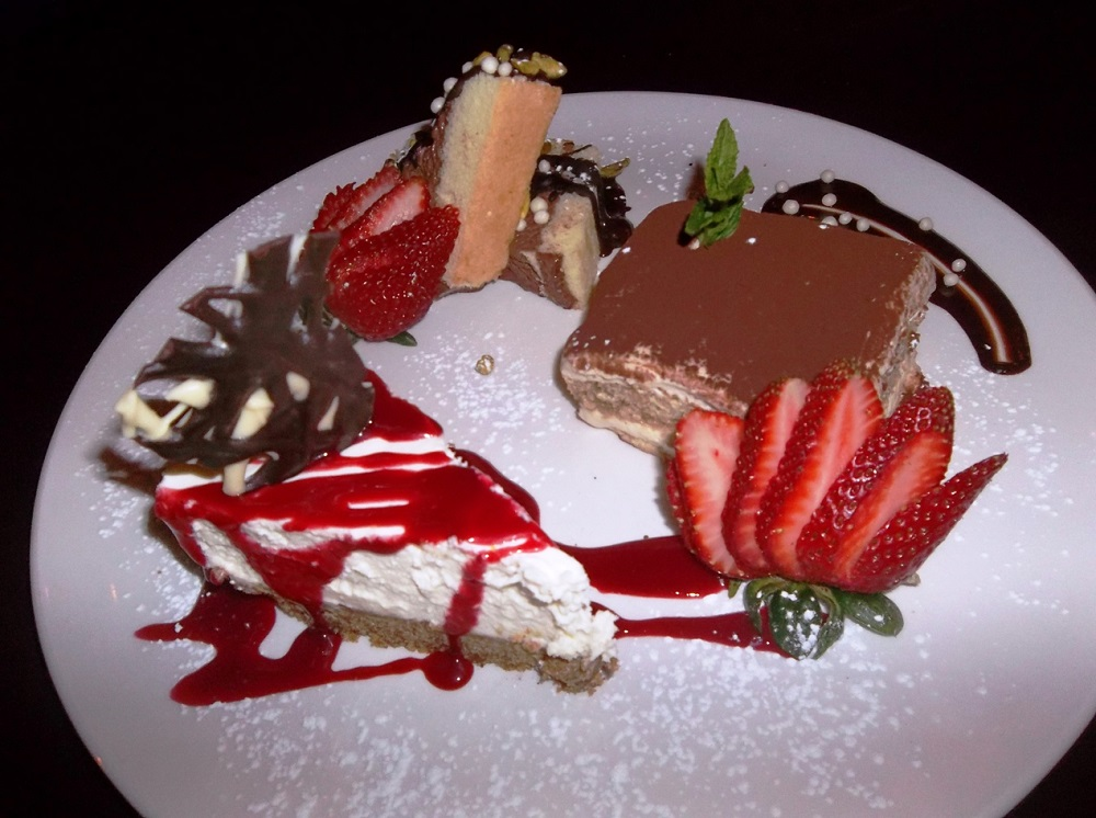 Frankie's Italian Kitchen Vancouver Dessert