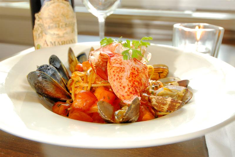 Frankie's Italian Kitchen Vancouver Seafood Linguini