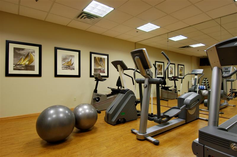 Georgian Court Hotel Vancouver Fitness Facility
