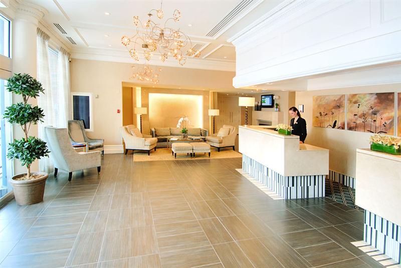 Georgian Court Hotel Vancouver Lobby