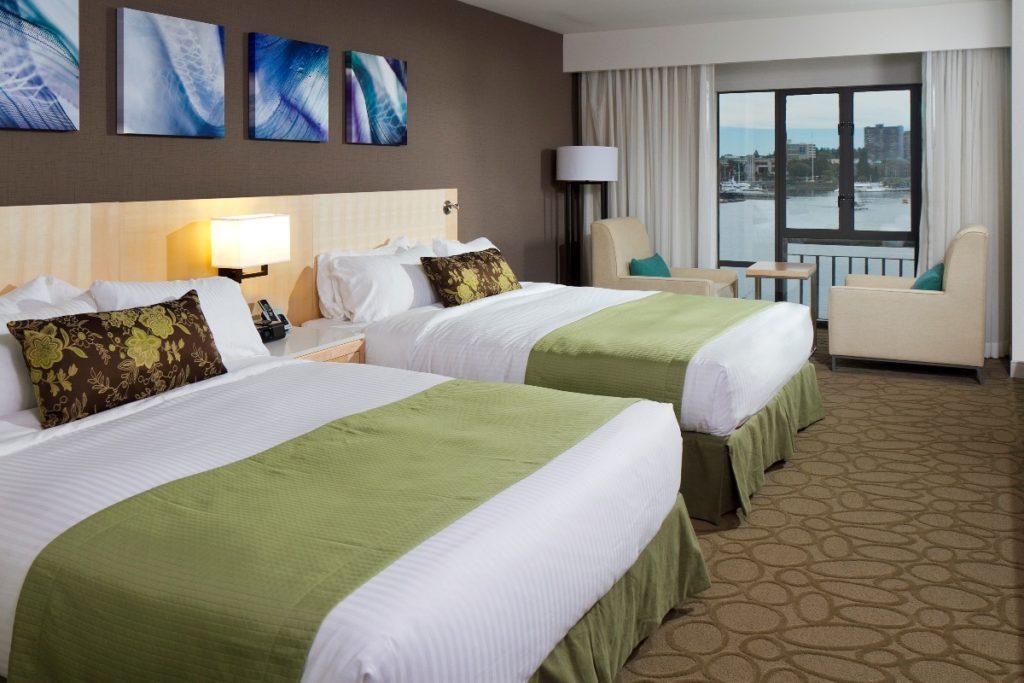 Delta Victoria Ocean Pointe Resort and Spa Bedroom