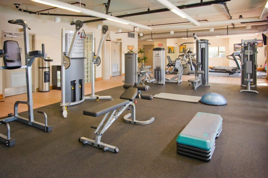 Delta Victoria Ocean Pointe Resort and Spa Fitness Room