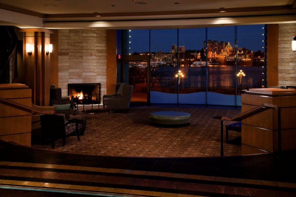 Delta Victoria Ocean Pointe Resort and Spa Lobby