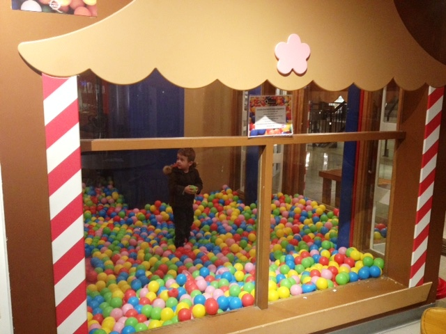 lonsdale quay hotel north vancouver ball pit