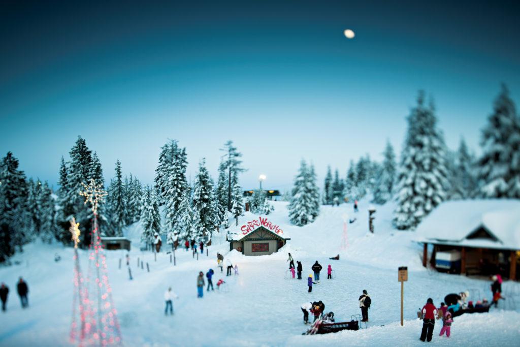 peak of christmas grouse mountain santas workshop
