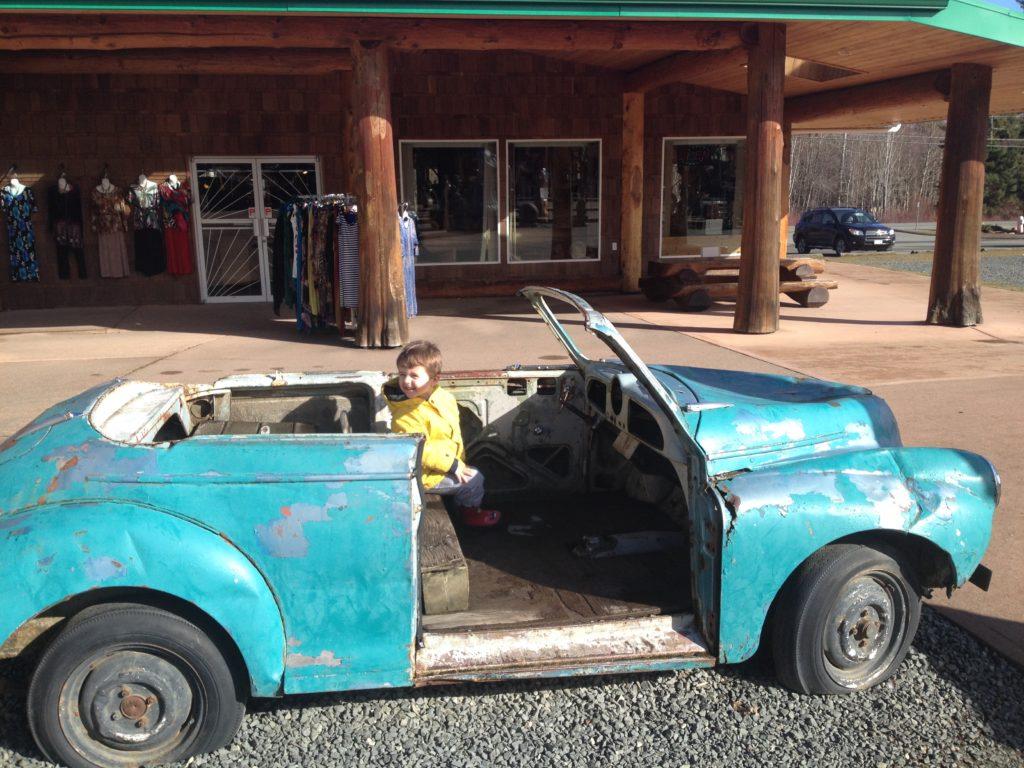 beach club resort parksville old car