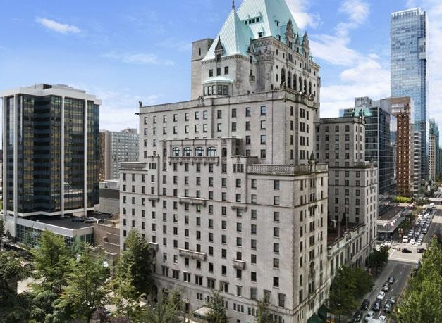 the fairmont hotel vancouver historic hotel
