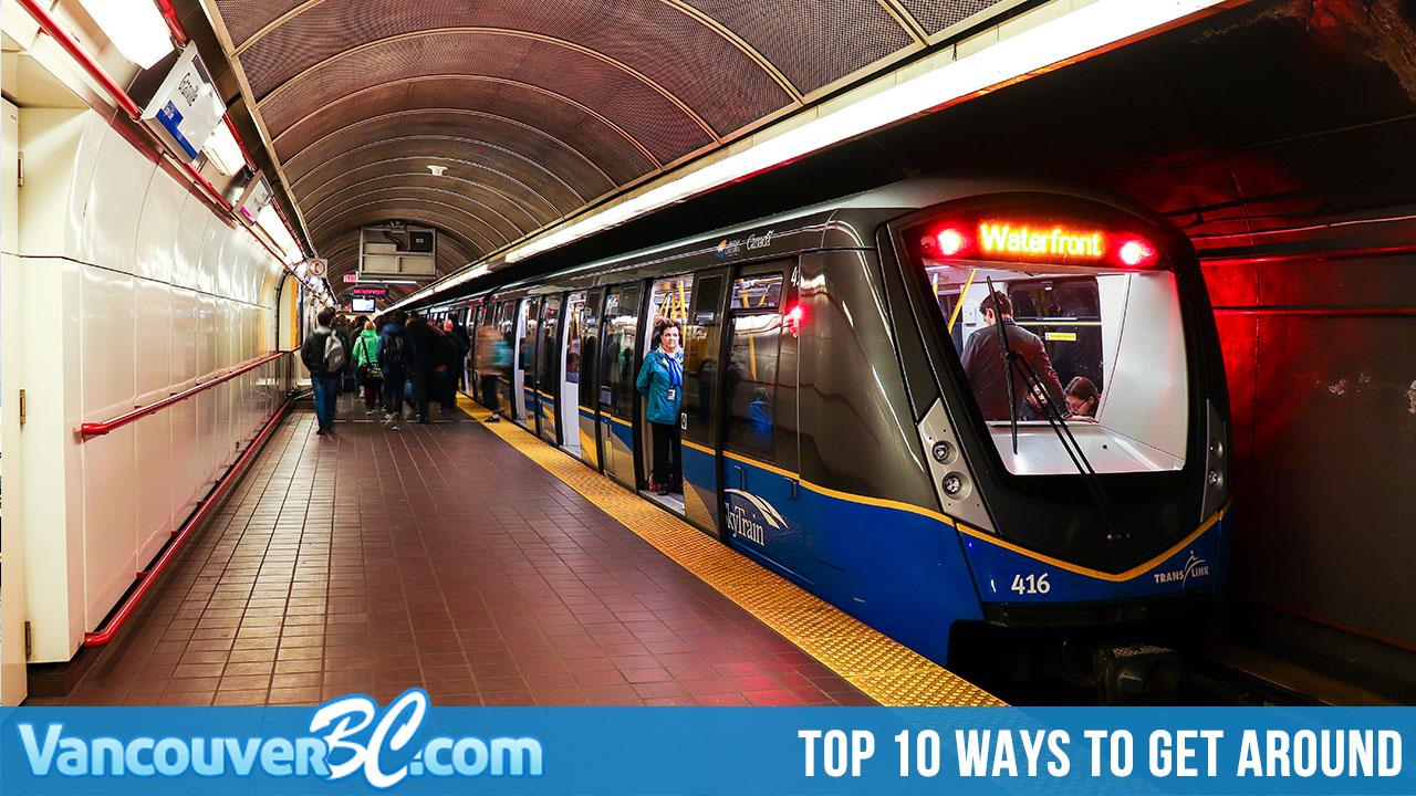10 Ways to Get to Around Vancouver