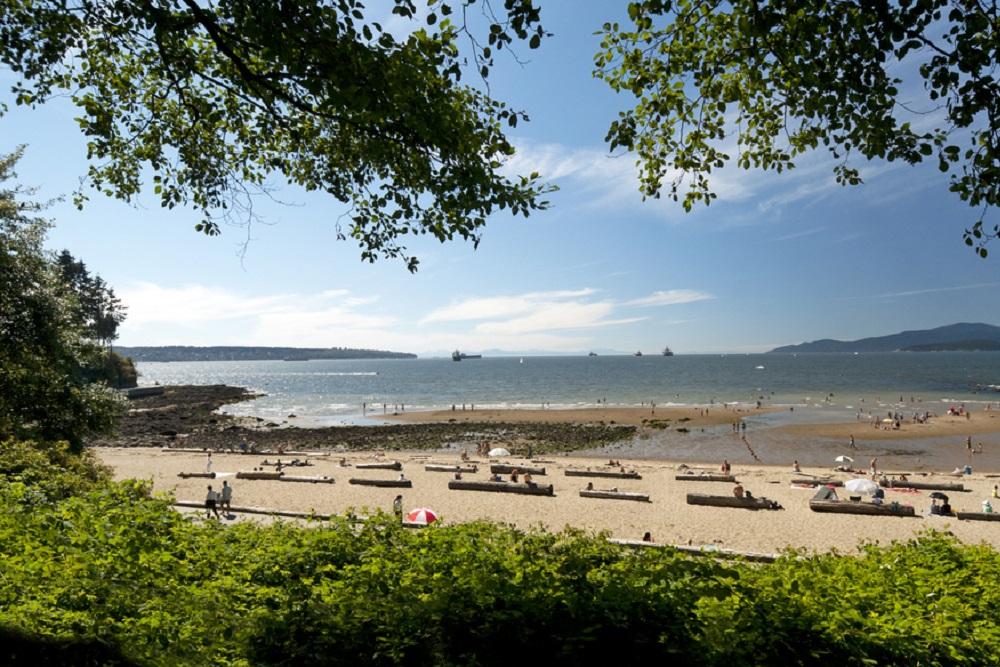 English Bay Beach Vancouver