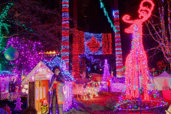 Stanley Park Bright Nights Vancouver