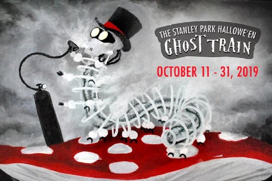 Stanley Park Halloween Ghost Train Vancouver
