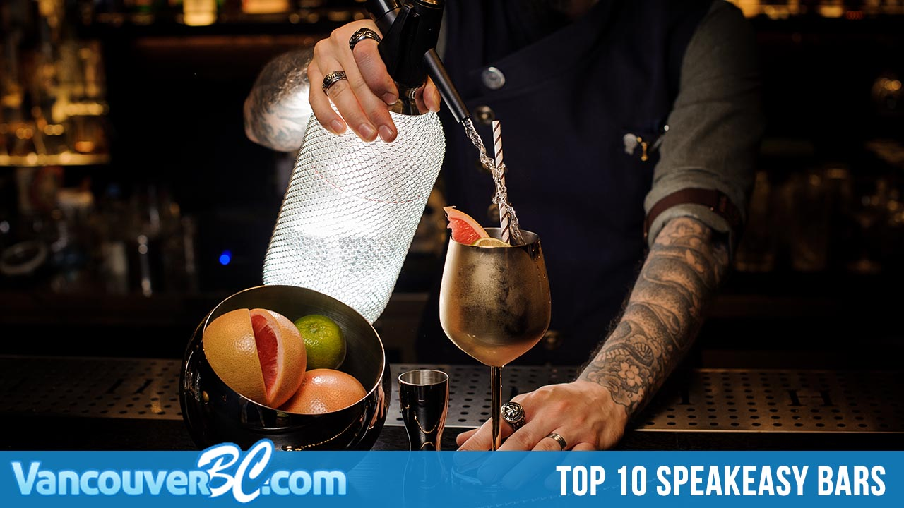 Top 10 Speakeasy Style Bars in Vancouver