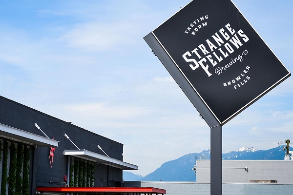 Strange Fellows Brewing Vancouver