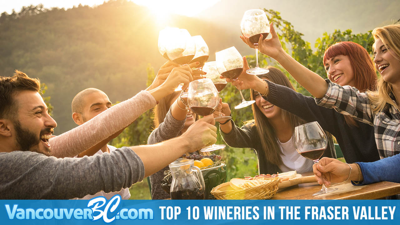 Top 10 Wineries in the Fraser Valley