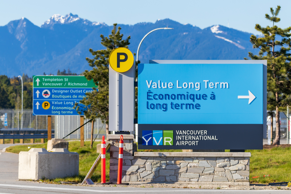Vancouver International Airport Parking