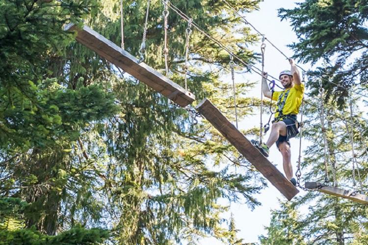 Mountain Ropes Adventure Grouse Mountain