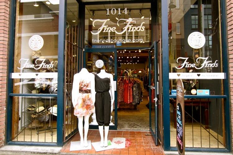 Fine Finds Boutique Vancouver